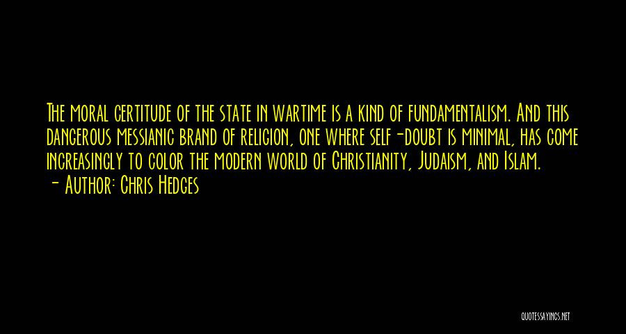 State And Religion Quotes By Chris Hedges