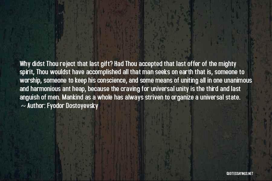 State And Religion Quotes By Fyodor Dostoyevsky