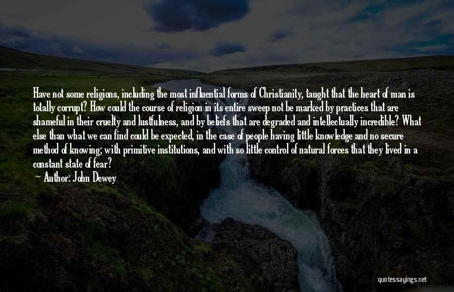 State And Religion Quotes By John Dewey