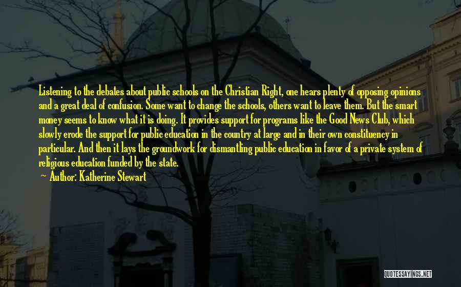 State And Religion Quotes By Katherine Stewart