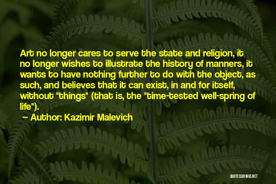 State And Religion Quotes By Kazimir Malevich