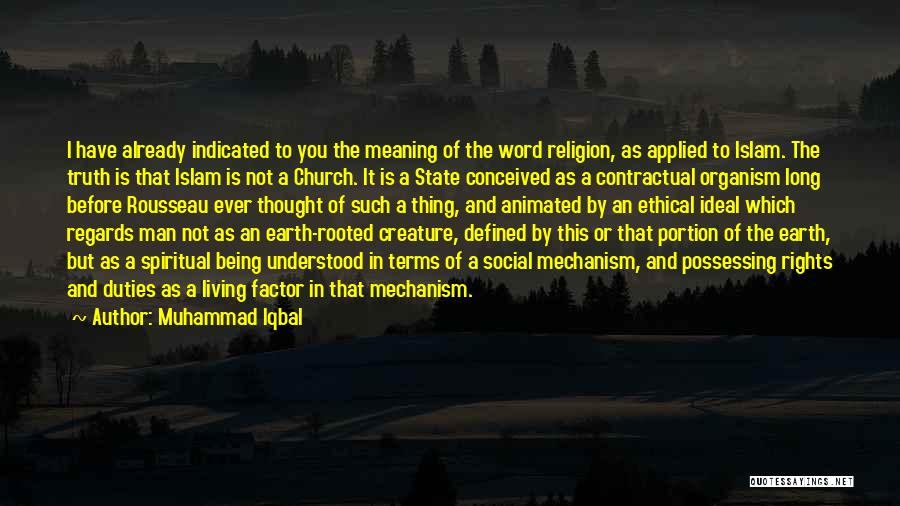 State And Religion Quotes By Muhammad Iqbal