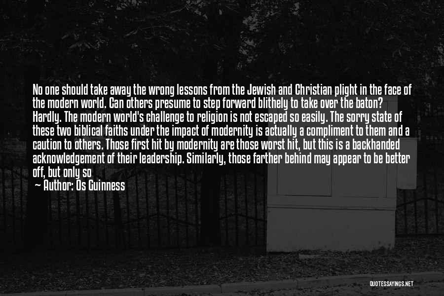 State And Religion Quotes By Os Guinness