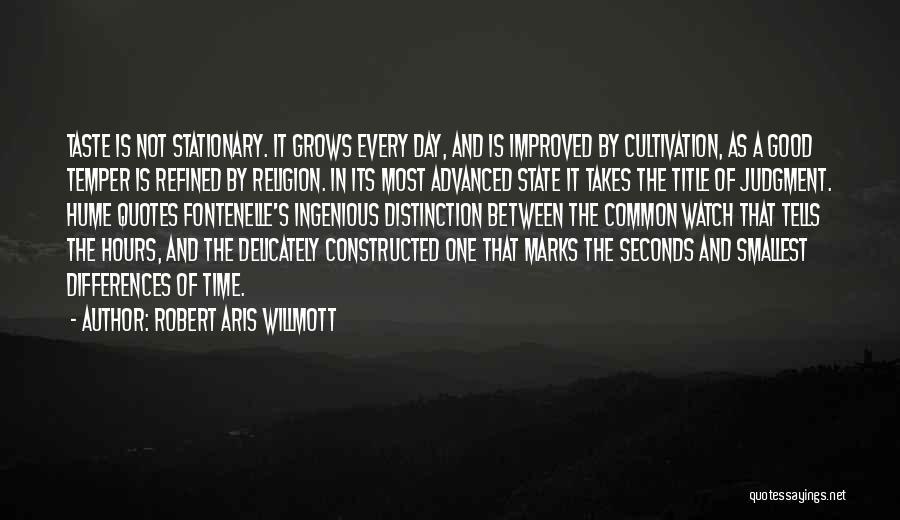 State And Religion Quotes By Robert Aris Willmott