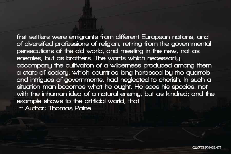 State And Religion Quotes By Thomas Paine