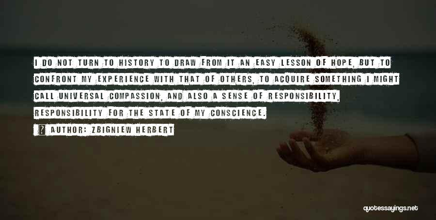 State And Religion Quotes By Zbigniew Herbert