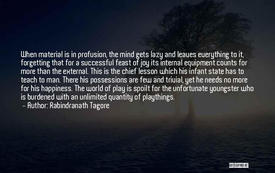 State Of Play Quotes By Rabindranath Tagore