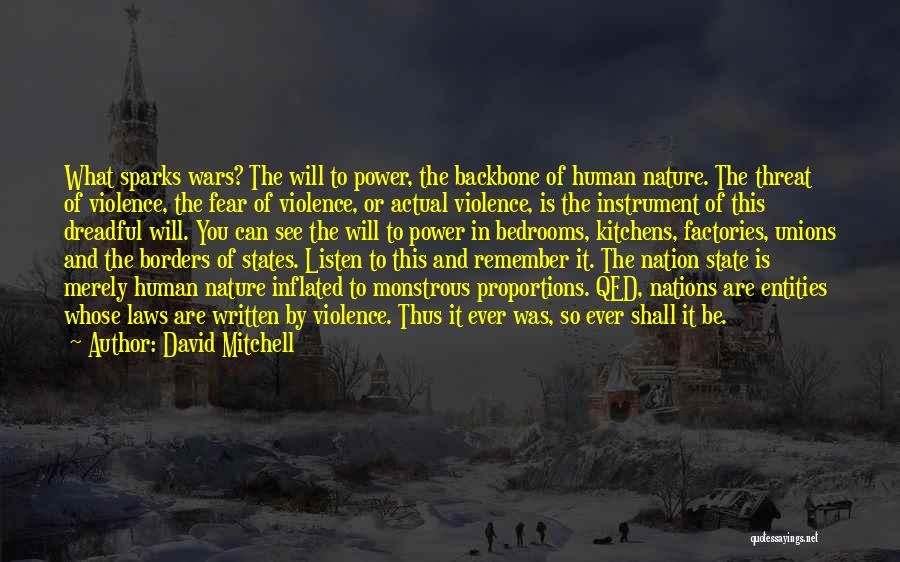 State Of The Nation Quotes By David Mitchell
