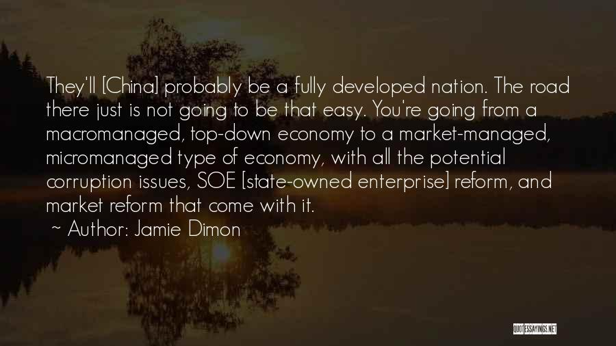 State Of The Nation Quotes By Jamie Dimon