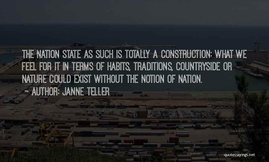 State Of The Nation Quotes By Janne Teller