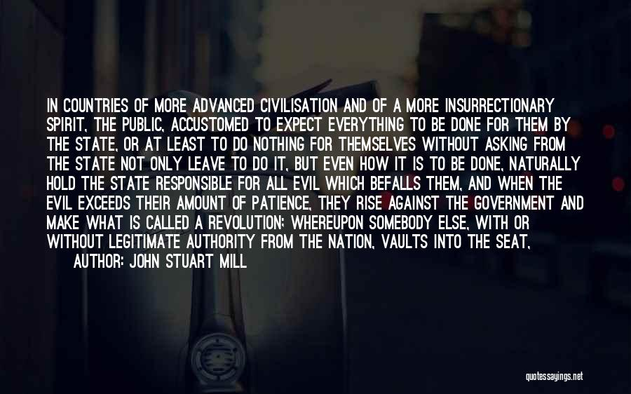 State Of The Nation Quotes By John Stuart Mill