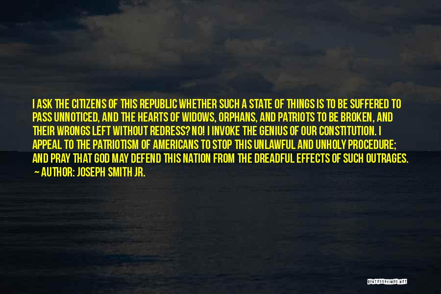 State Of The Nation Quotes By Joseph Smith Jr.