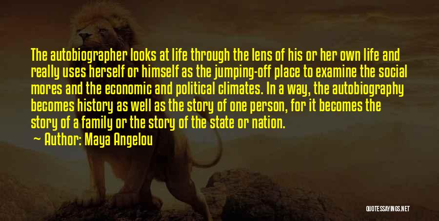 State Of The Nation Quotes By Maya Angelou