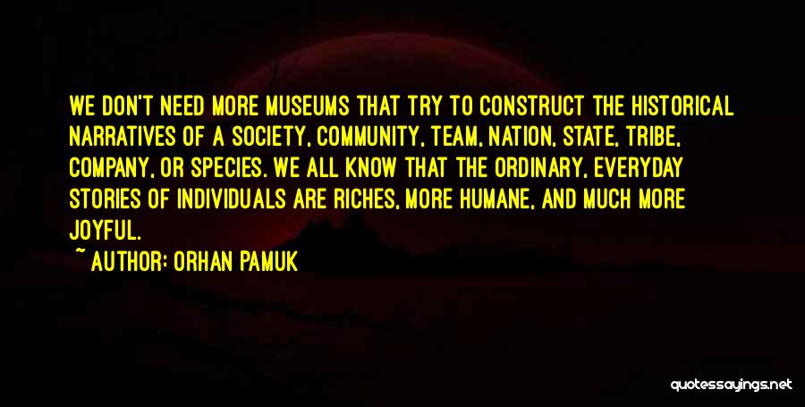 State Of The Nation Quotes By Orhan Pamuk