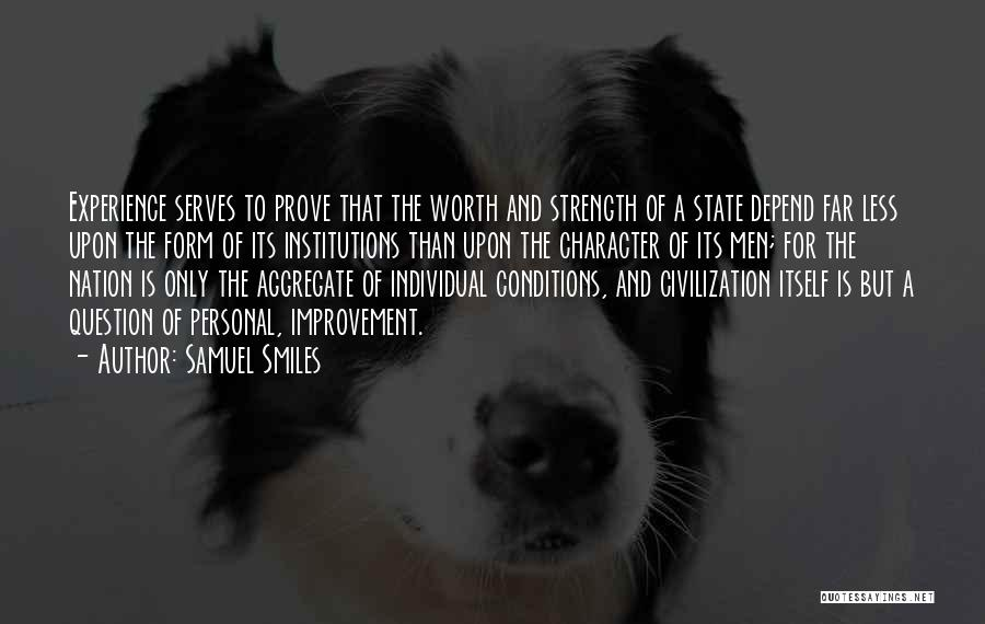 State Of The Nation Quotes By Samuel Smiles