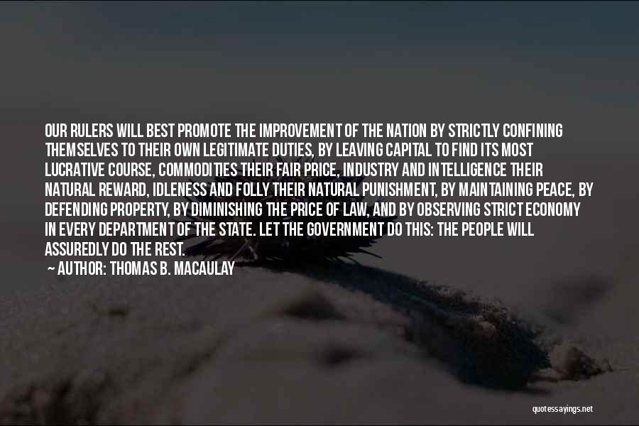 State Of The Nation Quotes By Thomas B. Macaulay