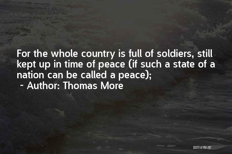 State Of The Nation Quotes By Thomas More