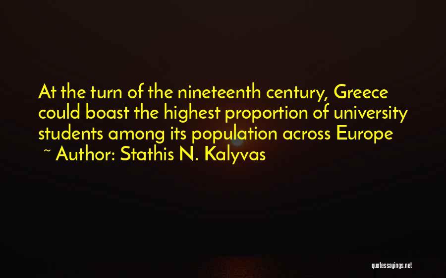 Stathis N. Kalyvas Quotes 1610478