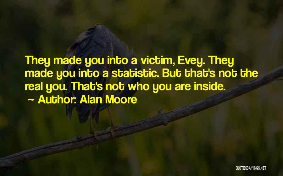 Statistic Quotes By Alan Moore