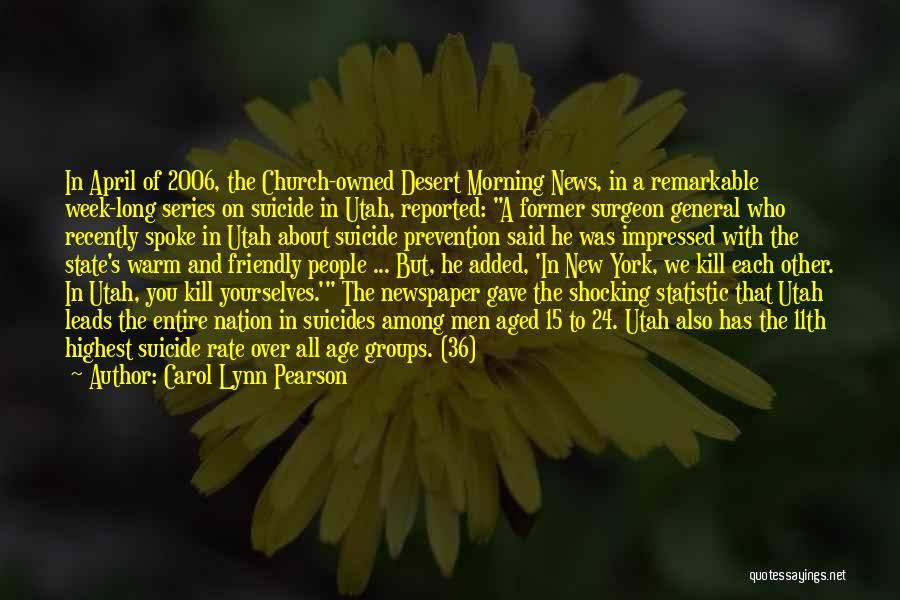 Statistic Quotes By Carol Lynn Pearson