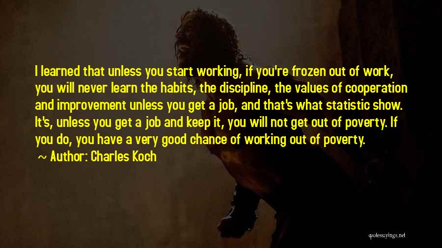 Statistic Quotes By Charles Koch