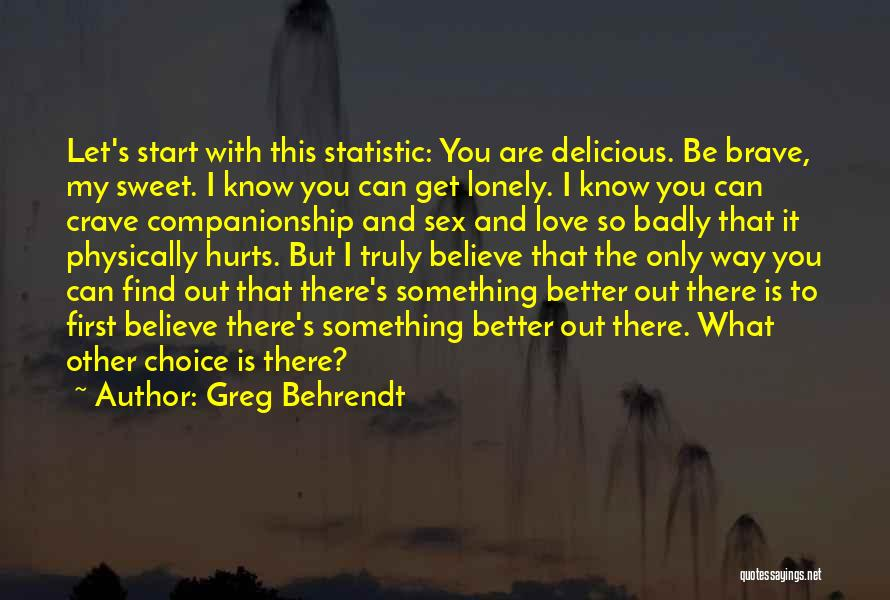 Statistic Quotes By Greg Behrendt