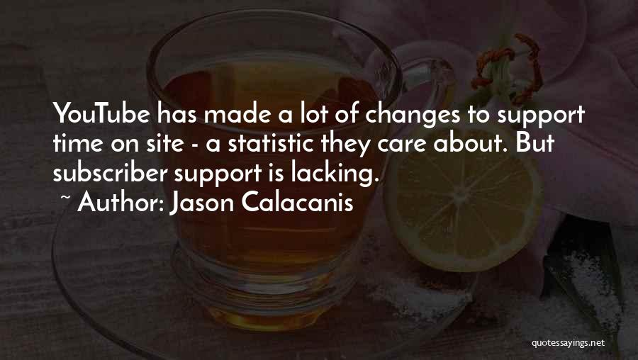Statistic Quotes By Jason Calacanis