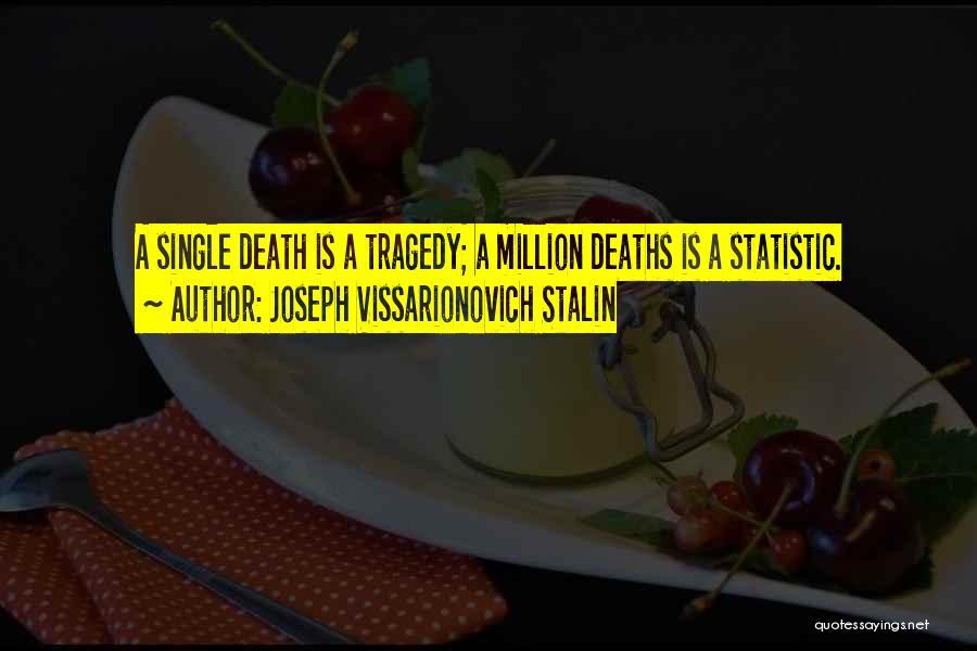 Statistic Quotes By Joseph Vissarionovich Stalin