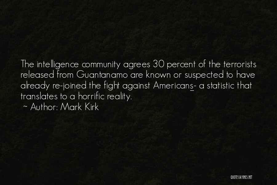 Statistic Quotes By Mark Kirk