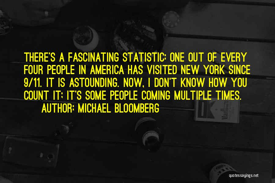 Statistic Quotes By Michael Bloomberg