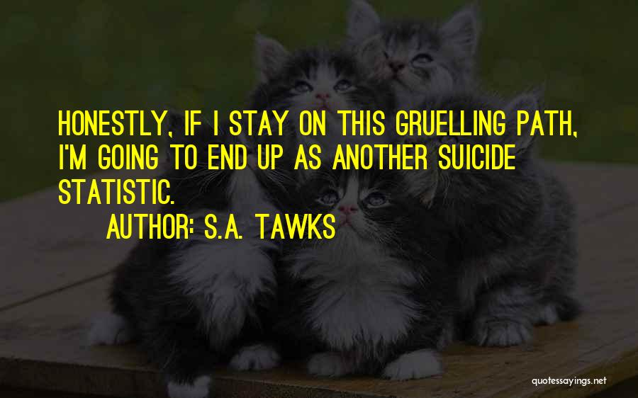 Statistic Quotes By S.A. Tawks