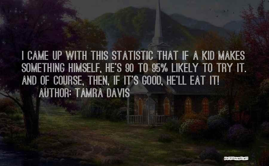 Statistic Quotes By Tamra Davis