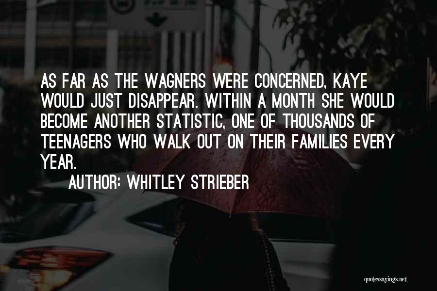 Statistic Quotes By Whitley Strieber