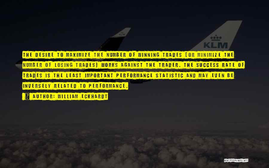 Statistic Quotes By William Eckhardt