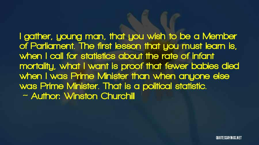 Statistic Quotes By Winston Churchill