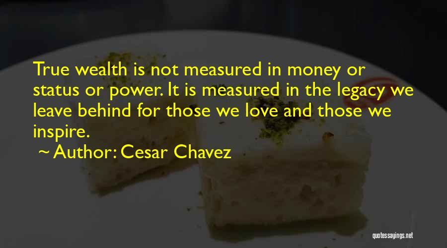 Status Quotes By Cesar Chavez