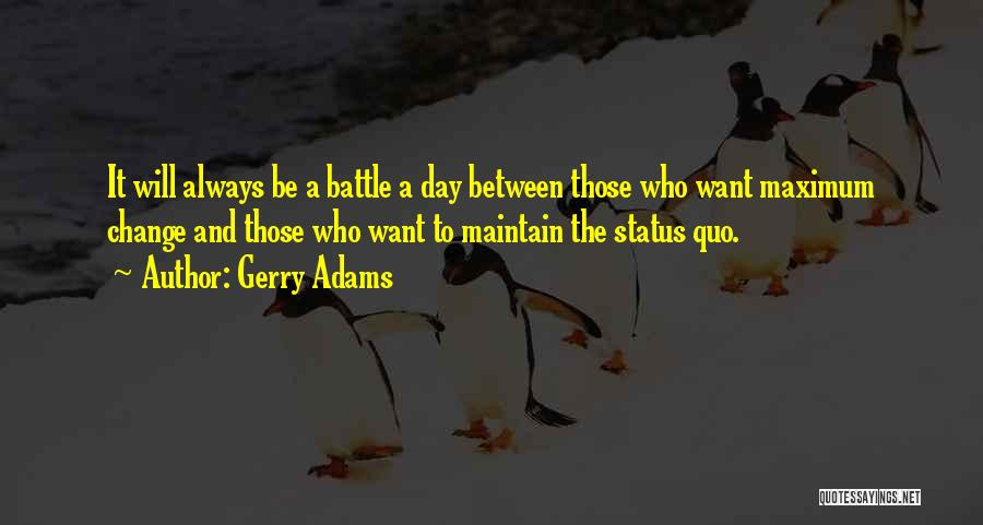 Status Quotes By Gerry Adams