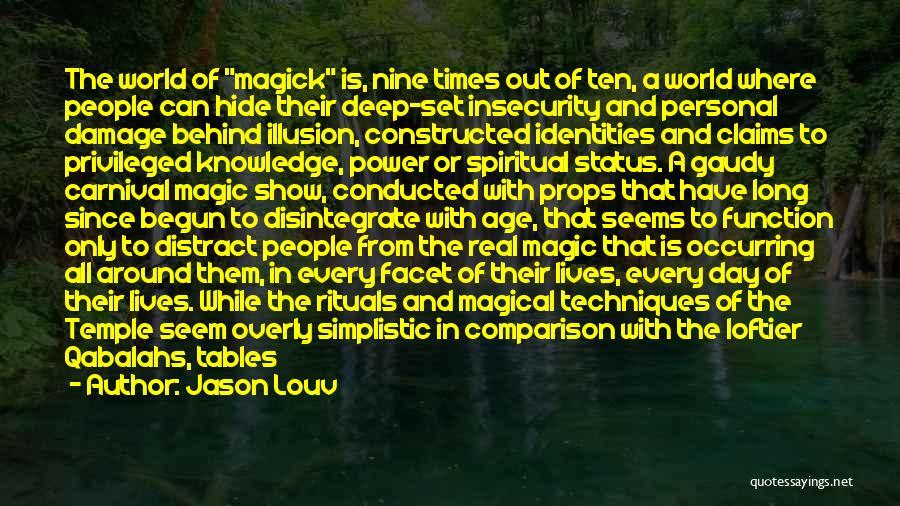 Status Quotes By Jason Louv
