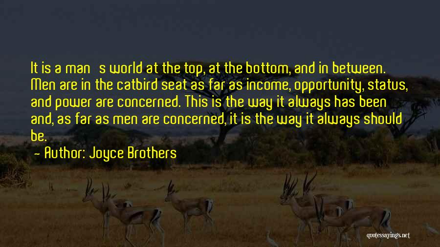 Status Quotes By Joyce Brothers