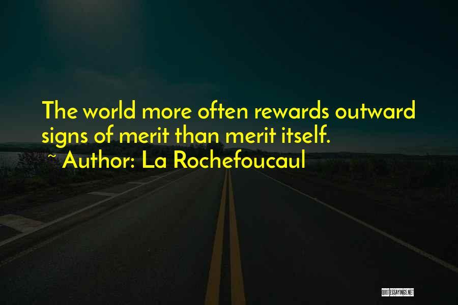 Status Quotes By La Rochefoucaul