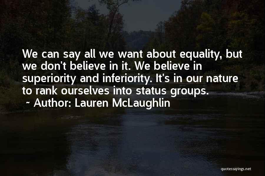 Status Quotes By Lauren McLaughlin