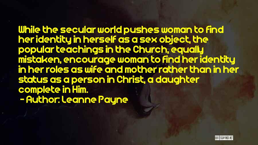 Status Quotes By Leanne Payne