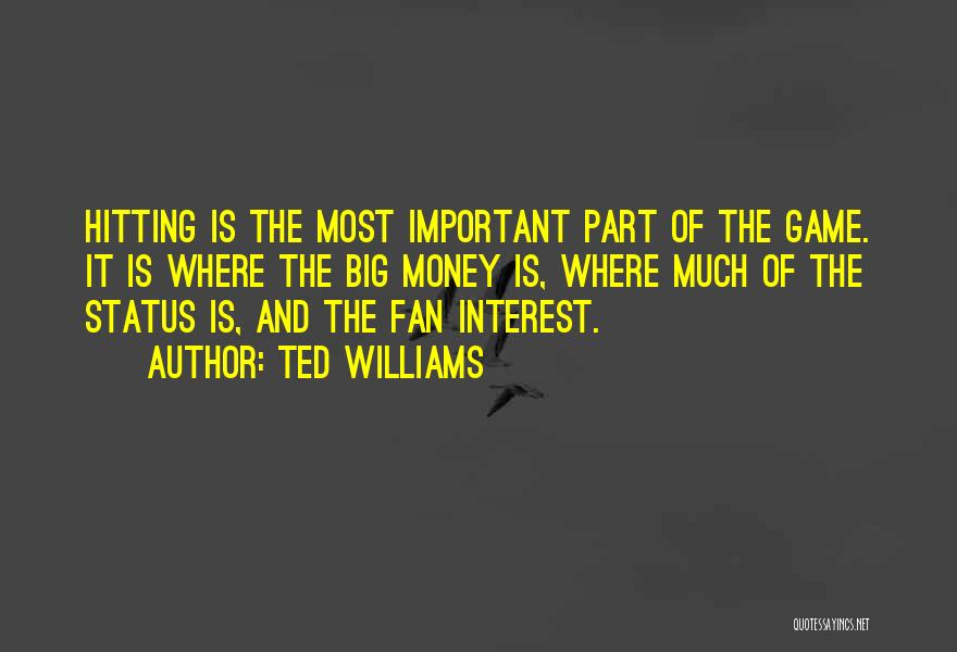 Status Quotes By Ted Williams