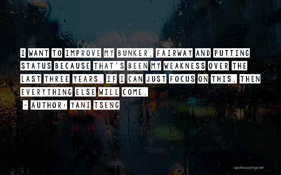 Status Quotes By Yani Tseng