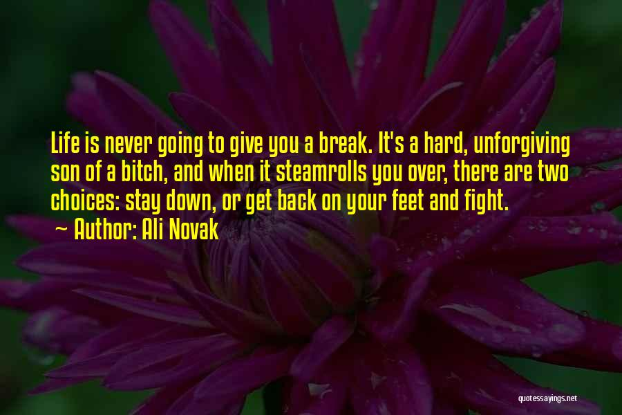Stay And Fight Quotes By Ali Novak