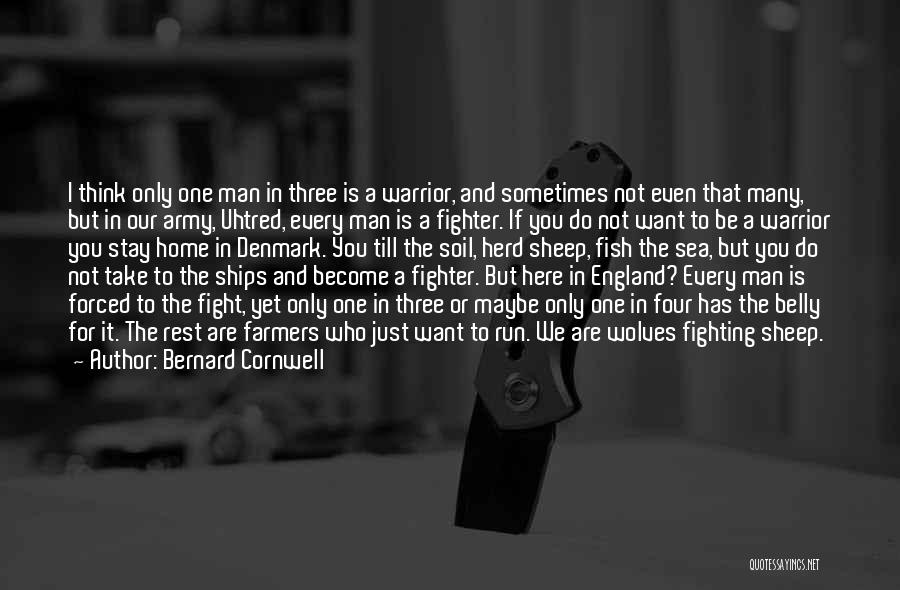 Stay And Fight Quotes By Bernard Cornwell