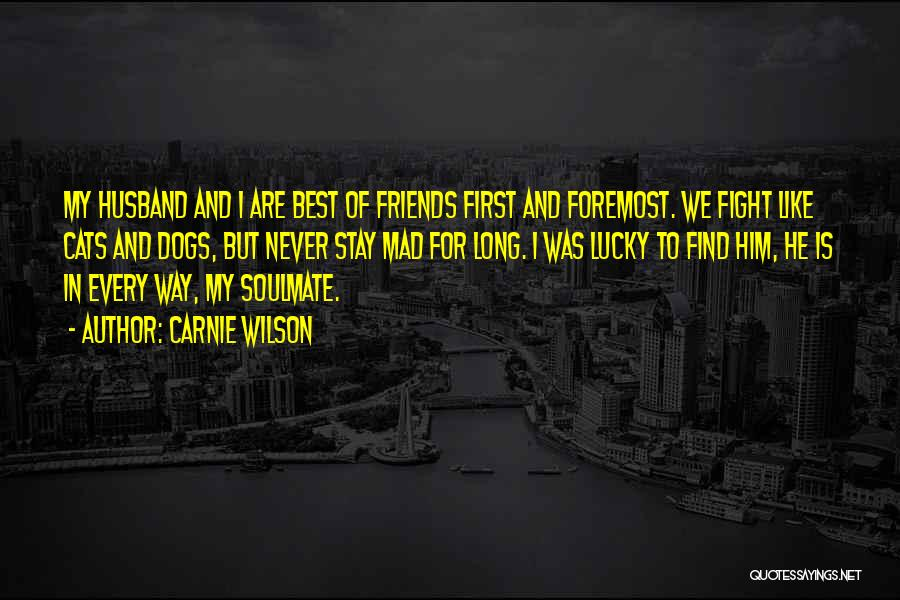 Stay And Fight Quotes By Carnie Wilson