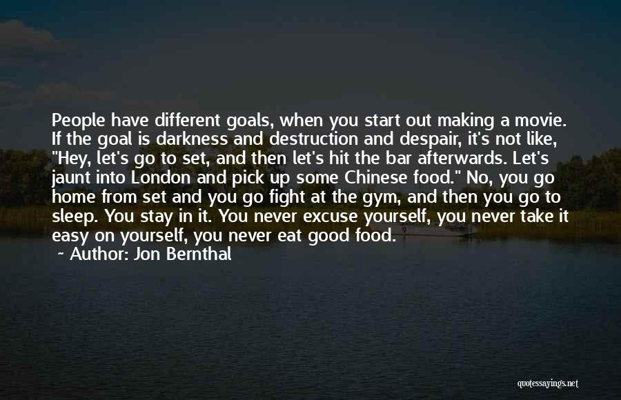Stay And Fight Quotes By Jon Bernthal