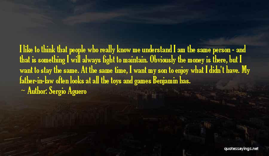 Stay And Fight Quotes By Sergio Aguero