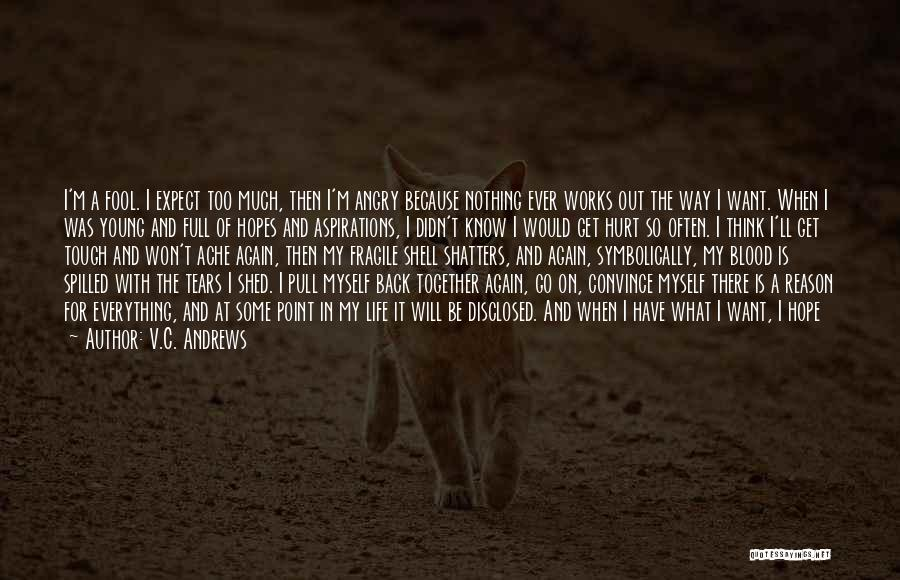 Stay Out My Life Quotes By V.C. Andrews